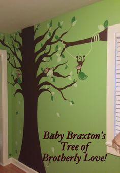 I want to do something like this for my sons room. I was just going to buy the decal but painting my be a fun idea.
