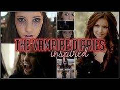 The Vampire Diaries Inspired: Halloween Makeup, Hair + Outfit - YouTube