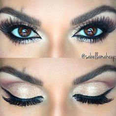 Your eyes say a lot about you, it's where your glamorous charm comes from. Hence, you have to be unique and creative when doing makeup for them. Add to that, when it's your big day, you must be the most beautiful and charming bride anyone has ever seen. So we're here to help. Here are 16 of the best eye makeup ideas to do on your big day. #beautymakeupforbrowneyes