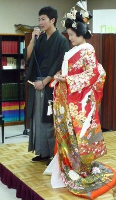 Anese Wedding Kimono Is Usually Red Because A Lucky Color In An It Always Heavily Embroidered With Colorful