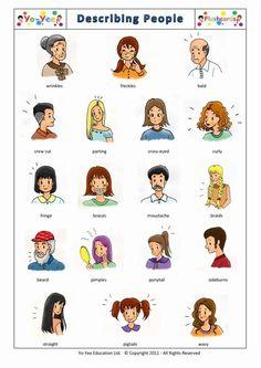 describe people.......