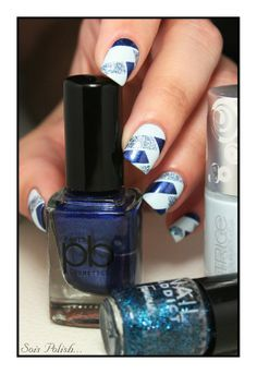 Play It Blue - Catrice // Striping tape nails @Elle_Oh_Die