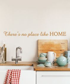 'There's No Place Like Home' Wall Quotes Decal