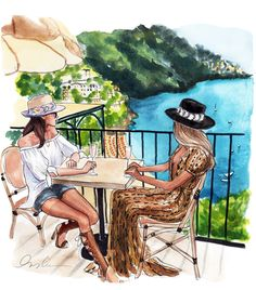 New York City based artist Inslee Fariss creates watercolor illustrations for weddings, events, brands and fine art commissions Bff Drawings, Drawings Of Friends, Drawing Sketches, Sketching, Watercolor Illustration, Watercolor Art, Arte Fashion, Girl Fashion, Fashion Sketches