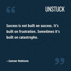 Instant Insight: Build success from frustration