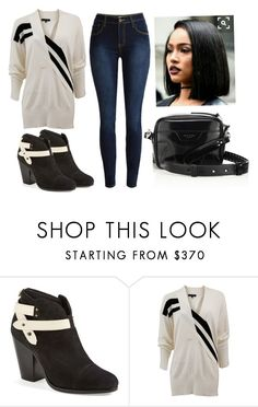 """""""Untitled #2555"""" by cheresh ❤ liked on Polyvore featuring H&M and rag & bone"""