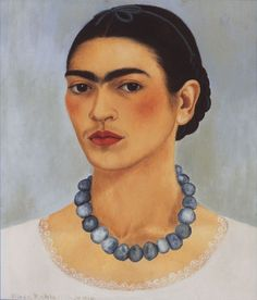Self portrait with Necklace 1933