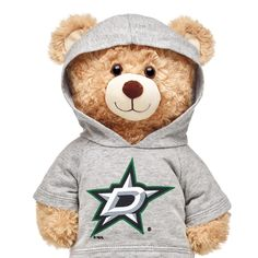 Dallas Stars® Hoodie Nhl Logos, Qoutes About Love, Sports Wallpapers, Dallas Mavericks, Build A Bear, National Hockey League, Grey Hoodie, Team Logo, Workshop