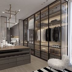 14 Walk In Closet Designs For Luxury Homes Fantastic luxury closets for yo. - 14 Walk In Closet Designs For Luxury Homes Fantastic luxury closets for yo… 14 Walk In Closet Designs For Luxury Homes Fantastic luxury closets for your Master Bedroom. Walk In Closet Design, Bedroom Closet Design, Master Bedroom Closet, Bedroom Wardrobe, Closet Designs, Bedroom Decor, Master Bedrooms, Luxury Master Bedroom, Master Master