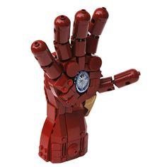 Highfive with Iron Man