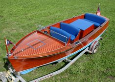 Antique Boats - Chris Craft 1939 21' Utility