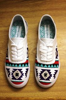 Paint markers and Vans | Custom Vans