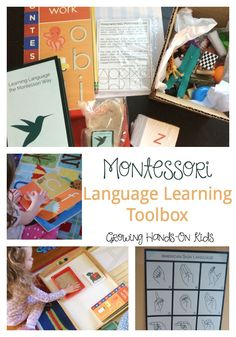 Explore the Montessori Language Learning Toolbox from Montessori By Mom, an excellent way to introduce language learning with your preschooler.