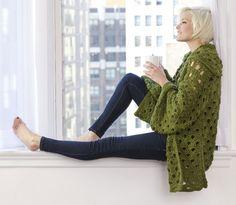 Penny Arcade Jacket - free crochet pattern