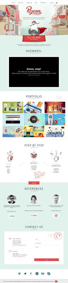 www.studiopigeon.com #website #design