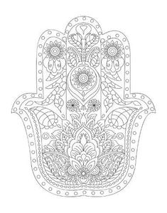 ru / Photo # 14 - Adult Coloring Book-Big Adult Coloring Book by Susan Stressl - tymannost Stress Coloring Book, Coloring Books, Free Coloring, Hamsa Design, Printable Adult Coloring Pages, Sharpie Art, Poster Colour, Tropical Art, Find Art