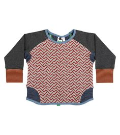 Lumberjack Crew Jumper, Oishi-m Clothing for kids, Autumn 2017, www.oishi-m.com