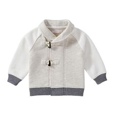 Baby Boys' Colour Block Toggle Sweater
