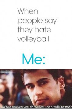 I don't play volleyball but this was funny as hell! Volleyball Jokes, Volleyball Training, Volleyball Workouts, Volleyball Drills, Coaching Volleyball, Volleyball Players, Volleyball Sayings, Softball Memes, Volleyball Ideas