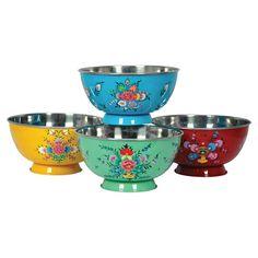 4 Piece Fleur Mini Bowl  - SO getting these