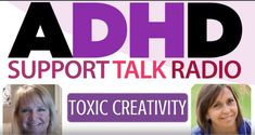 In my latest Podcast, I talk with my friend and expert, Diane E. O'Reilly, on Toxic Creativity and #ADHD! Share your thoughts! How can you use your untapped gifts?