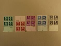 USPS Scott 874-78 1940 American Scientists Lot Of 5 Plate Block 20 Stamp Mint NH -- New