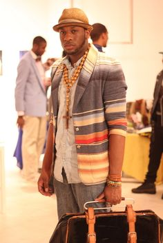 The guy wearing this blazer designed it. And I absolutely LOVE it! Quite stylish!