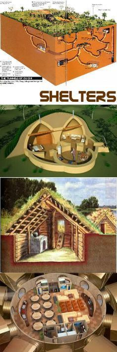 Long Term Survival Shelter Floor Plans : Rising s bunkers underground and survival