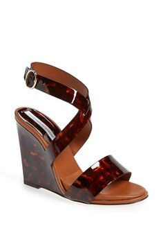 Diane von Furstenberg 'Wilma' Slingback Wedge available at #Nordstrom