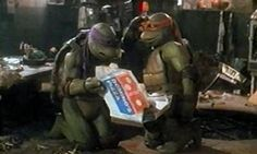 For years and years of my #childhood I have drooled over my tube TV staring at the #NinjaTurtles eat their delicious looking pizza. I guess it only made sense it would get #branded for the big screen. #Yum