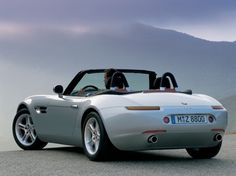 BMW Beautiful car, even better in real life. Limited production units Exterior styling by Henrik Fisker (who later co-founded Fisker Automotive) Bmw Z8, Classic Sports Cars, Classic Cars, Bmw Website, M3 Cabrio, Henrik Fisker, Diesel, Bmw Design, Bond Cars