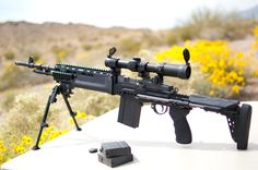 FS: EBR! Springfield M1A Scount in Sage Intl chassis - Calguns.net