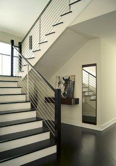 CUBBY & MIRROR 0011 new jersery - contemporary - staircase - New York - YZDA | Yoshida + Zanon Design Atrium