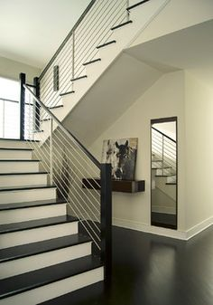 CUBBY & MIRROR 0011 new jersery - contemporary - staircase - New York - YZDA   Yoshida + Zanon Design Atrium