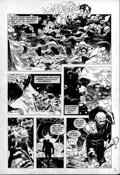 Winter World # 1 Page # 23 by Jorge Zaffino