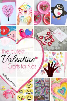 What a fantastic collection of Valentine crafts! Over 25 fun Valentine's Day craft ideas that are perfect to make with the kids. Valentines Day Bags, Valentine Crafts For Kids, Valentines Day Activities, Holiday Crafts, Holiday Fun, Valentine Ideas, Valentine's Day Crafts For Kids, Toddler Crafts, Daycare Crafts
