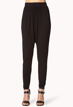 Is it weird that i want these? #hammertime Knit Harem Pants | FOREVER 21 - 2074003042