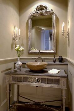 beautiful  C.B.I.D. HOME DECOR and DESIGN: THE POWDER ROOM: SMALL SPACES WITH BIG IMPACT