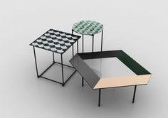 MATTHIAS LEHNER | CALÇADA SIDE TABLES