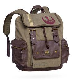 Rebel Canvas & Vegan Leather Backpack