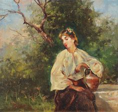 View Love song by Theodor Aman on artnet. Browse upcoming and past auction lots by Theodor Aman. Global Art, Art Market, Love Songs, Past, 8 Martie, Artist, Europe, Paintings, Woods