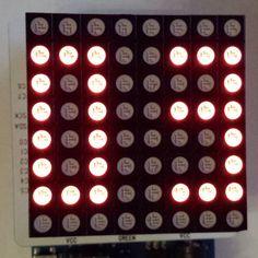 'Countdown Timer 03 em vermelho'