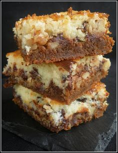 Sweet Recipes, Cake Recipes, Biscuit Cookies, Desert Recipes, Dessert Bars, Tray Bakes, Chic Chic, Coco, Sweet Treats