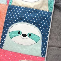 Silly Sloths Quilt Pattern – UpCraft Club