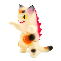 Flocking doll toys kawaii mini cats decoration toys for girls  BC