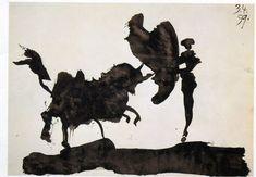 carnets de la tauromaquia de Pablo Picasso 1957
