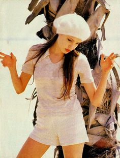 vintage everyday: Early Modeling Photos of Angelina Jolie When She was 18, in 1993