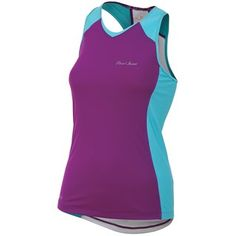 Pearl Izumi Infinity In-R-Cool® Singlet Top (For Women) in Orchid/Scuba Blue