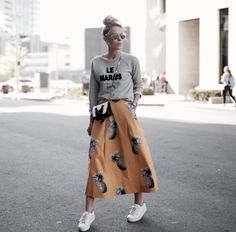 ALL IMAGES KELSEY CHERRY SWEATSHIRT WHISTLES (ALSO LOVE THIS & THIS) SKIRT C/O ANN TAYLOR (40% OFF) | SNEAKER NO NAME (SIMILAR HERE) | BAG GIVENCHY | EYEWEAR DIOR Just read a full article on t…