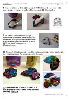 Tutorial foils III by Marta Collares, via Flickr